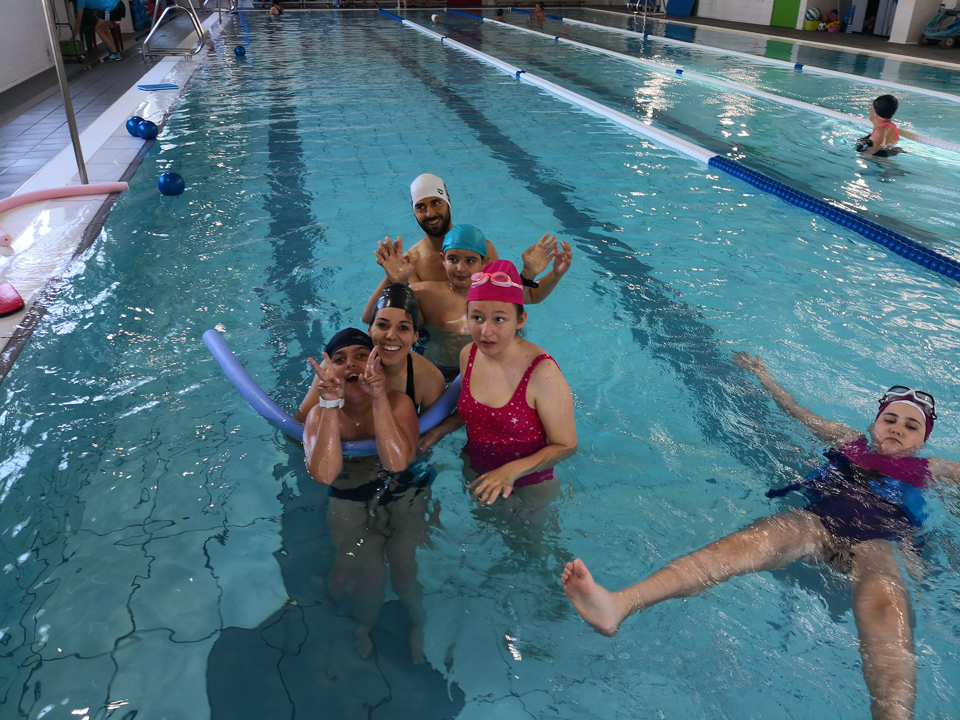 Hidroterapia Actividades dirigidas Obra Social Vals Sport