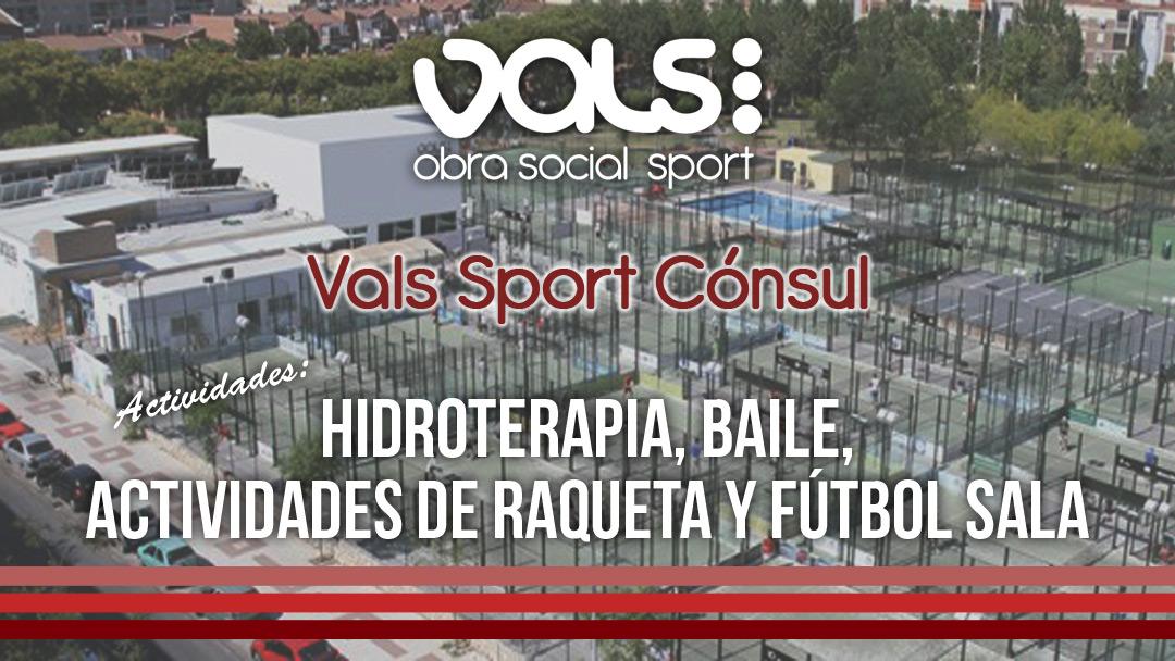 Vals Sport Obra Social en Cónsul