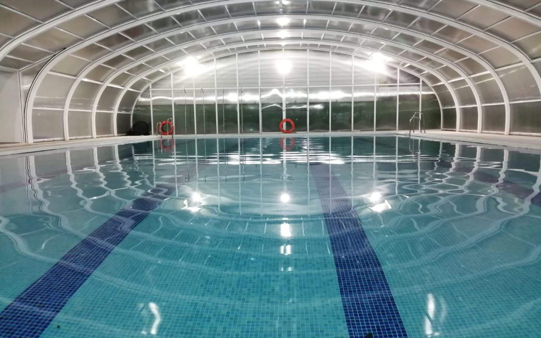 Inauguración de la piscina Vals Churriana