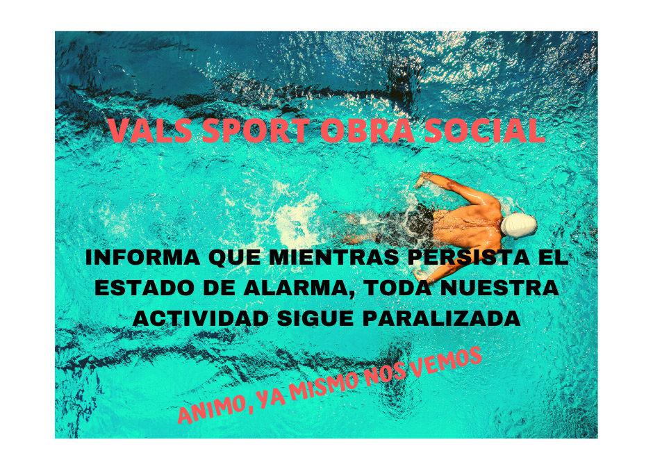 Obra Social Vals Sport durante Covid-19